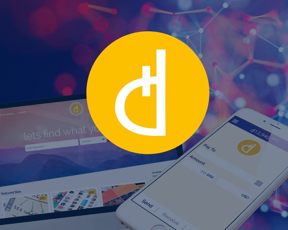 Digi, digitoken, cryptocurrency, ico, blockchain