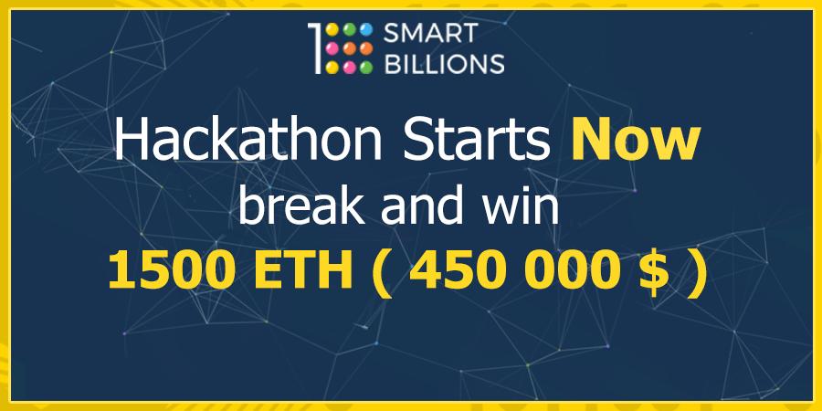 hackation, smartbillions