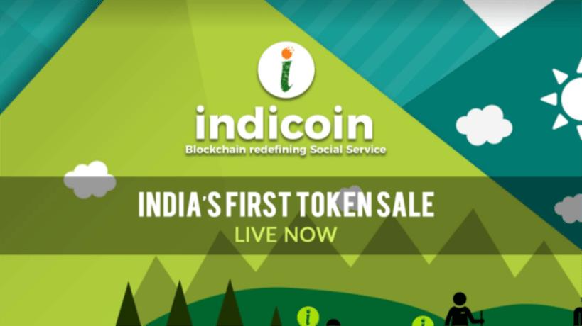 indicoin, india, ico