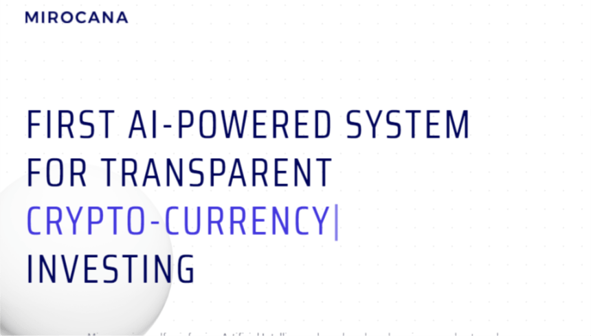 mirocana, cryptocurrency, trading, AI