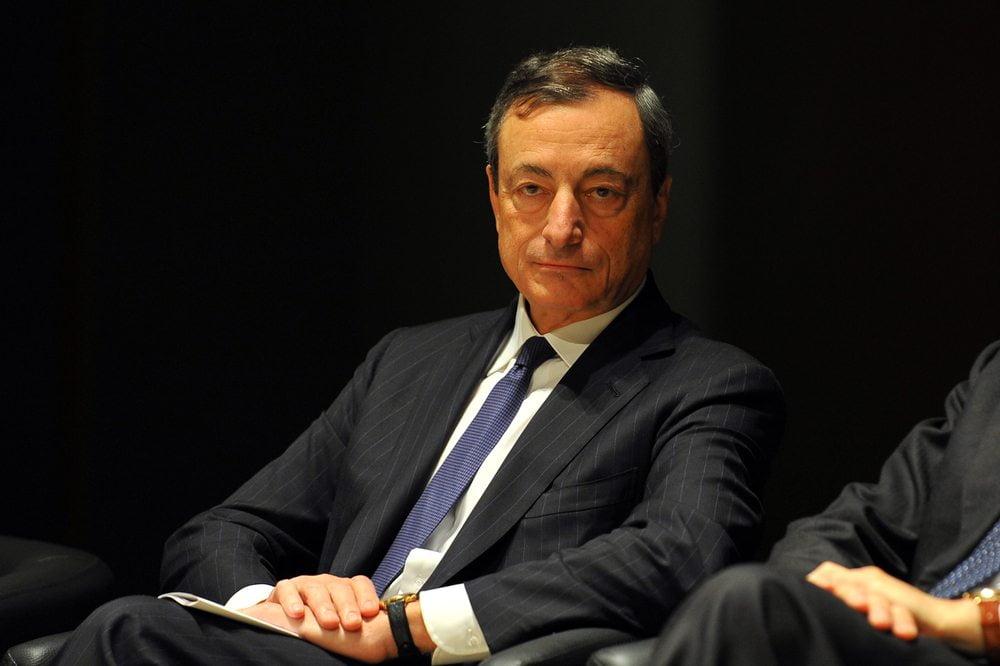 NewsBTC Draghi no Bitcoin Regulation Europe