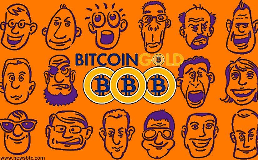 Bitcoin gold launch
