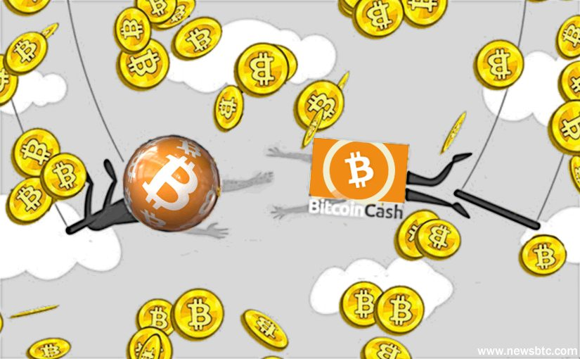 bitcoin cash and bitcoin