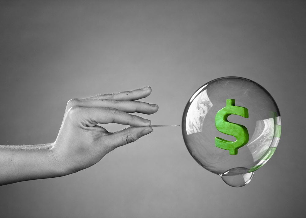 NewsBTC Bitcoin Gold Cap Bubble