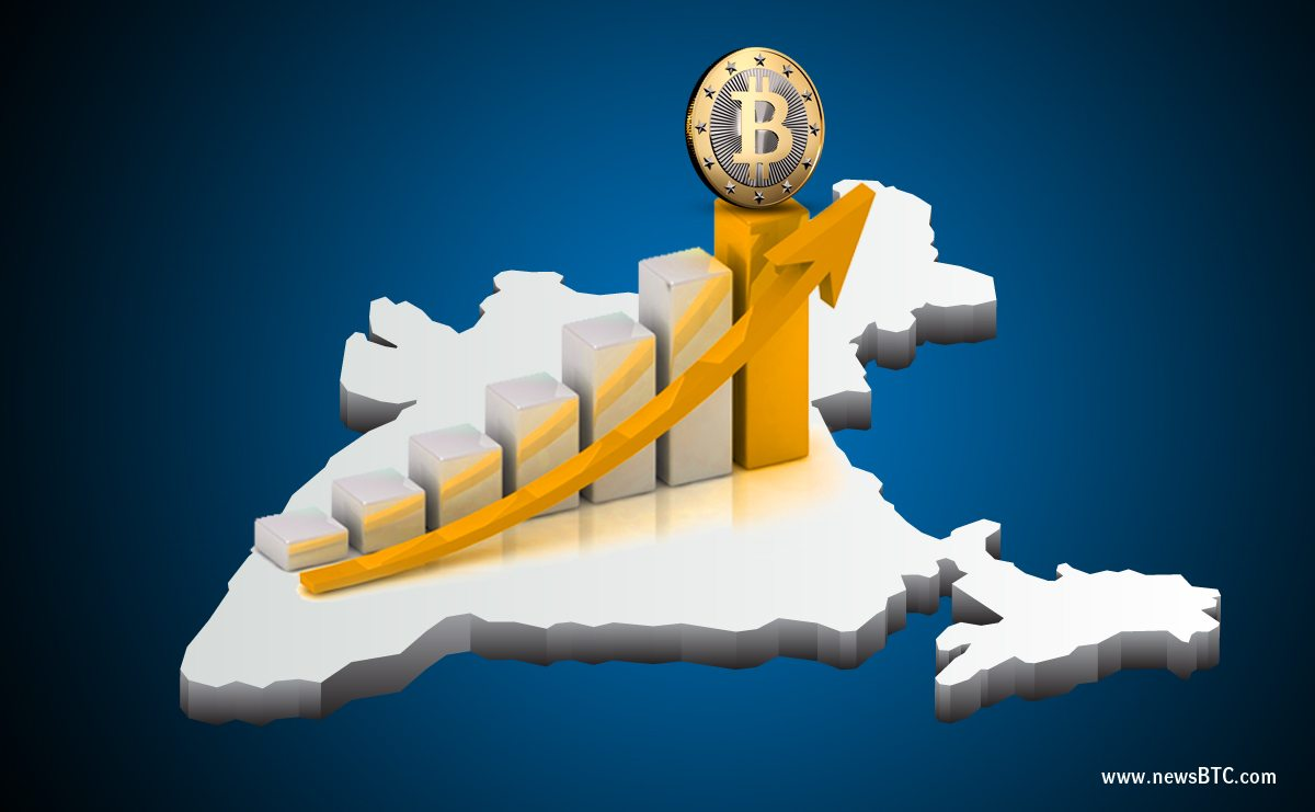 Bitcoin Price in India Higher