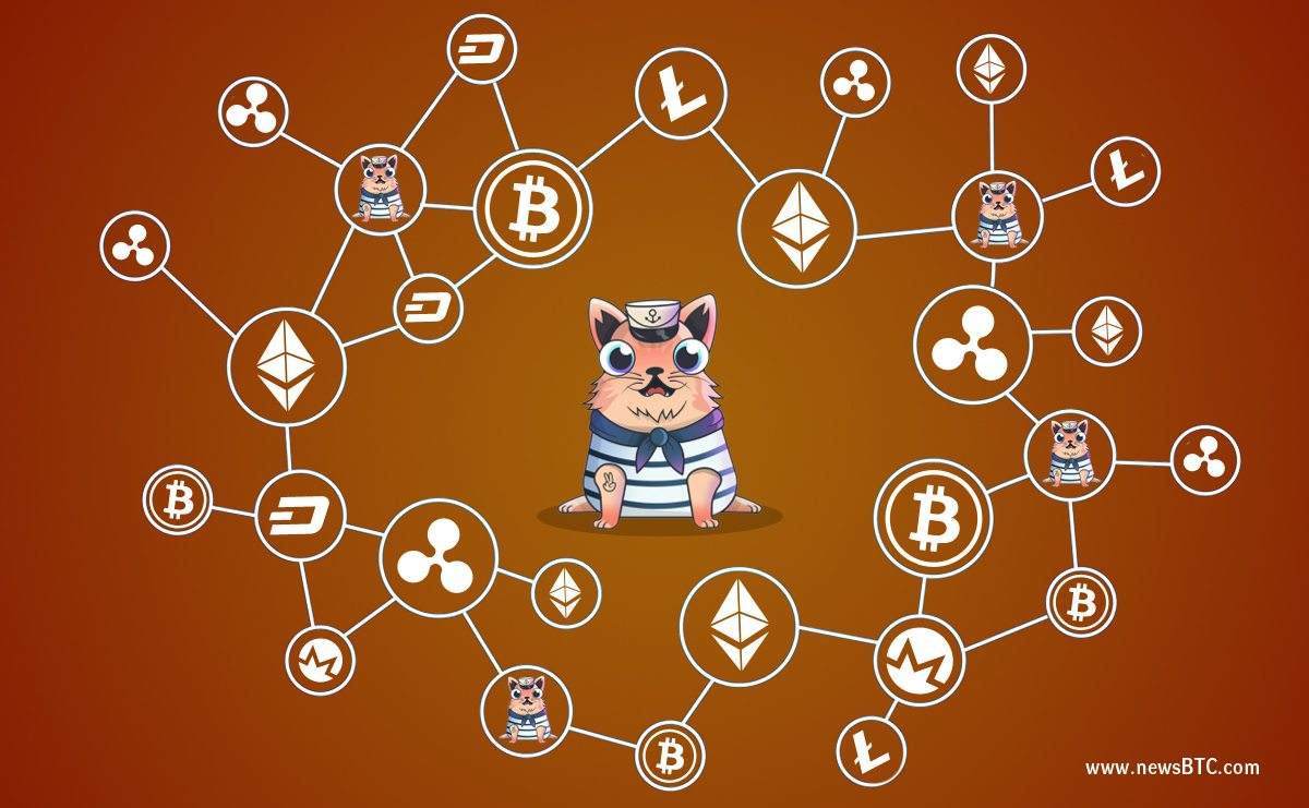 Crypto cats chomp into Ether chain