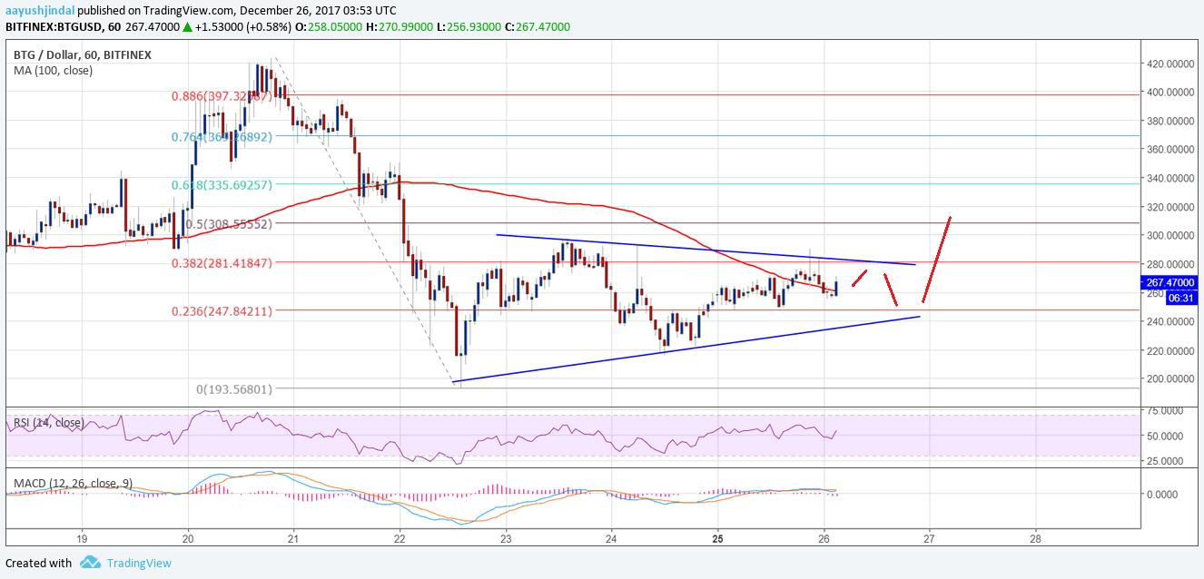 Bitcoin Gold Price Technical Analysis BTG USD