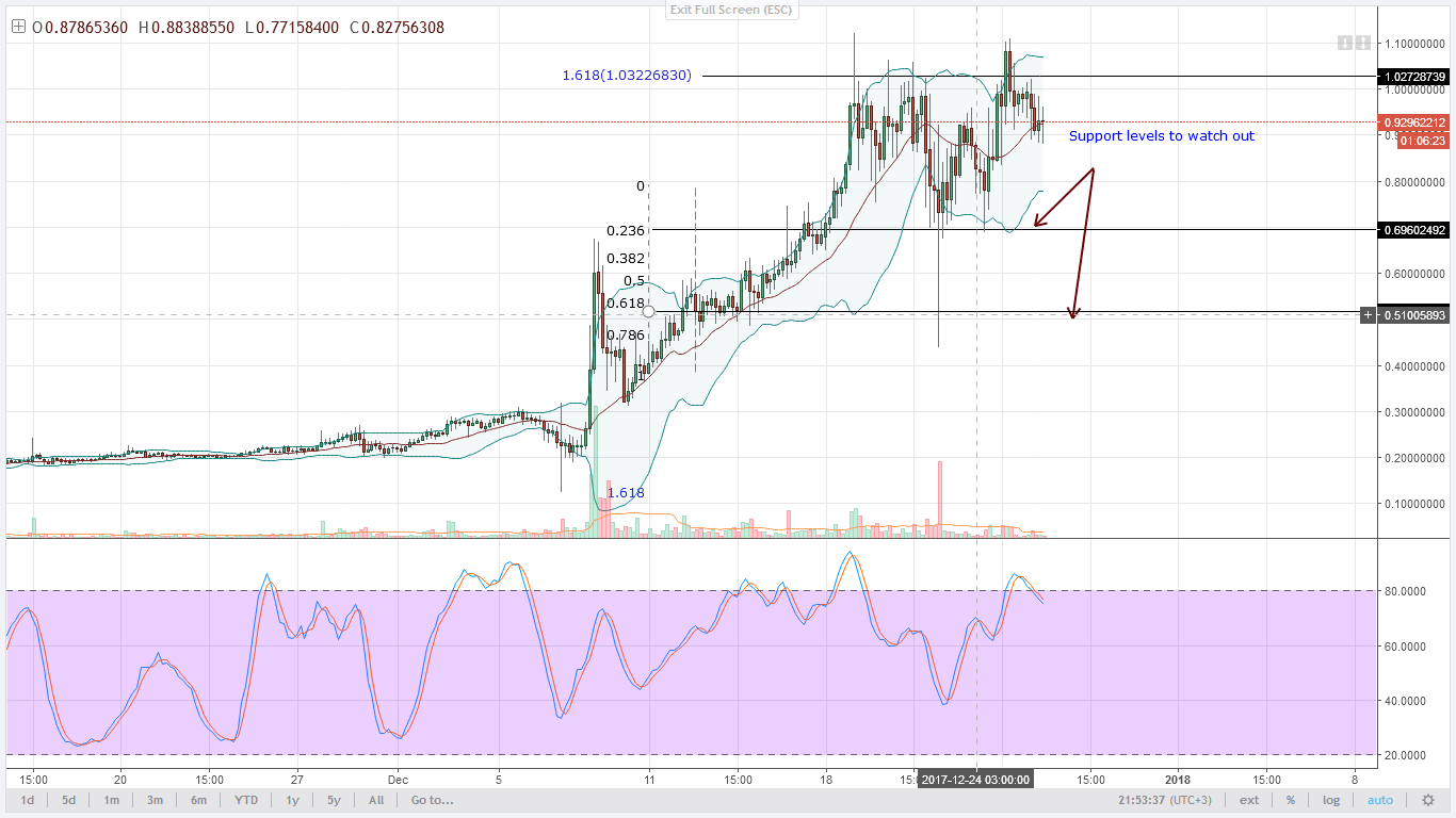 NEM bears Technical Analysis