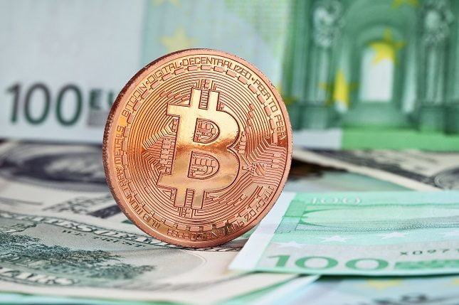 Bitcoin in EUR Background