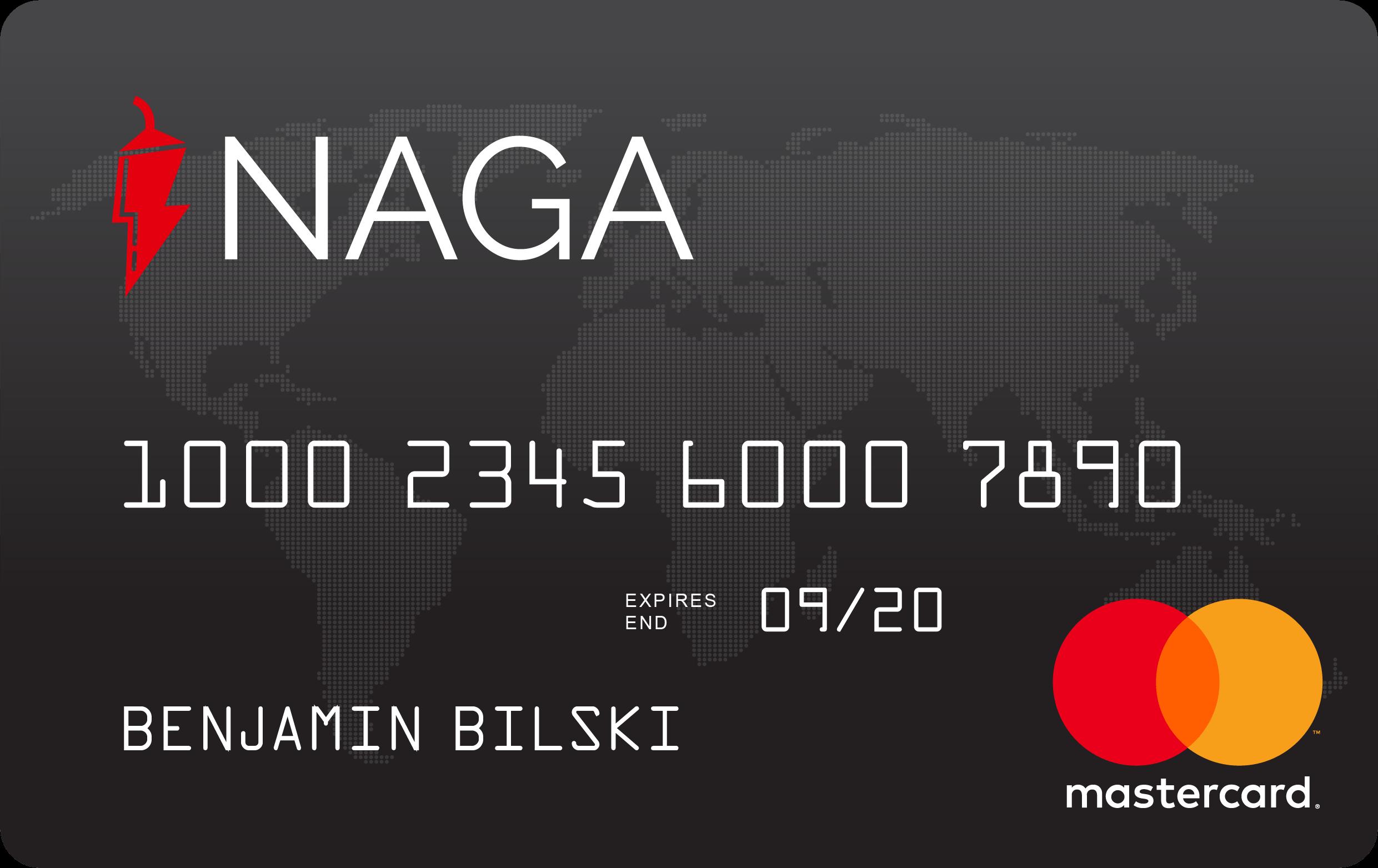 NAGA Master Card