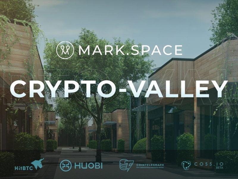 Blockchain Powered 3D - VR Platform MARK.SPACE Announces CRYPTO.VALLEY | NewsBTC