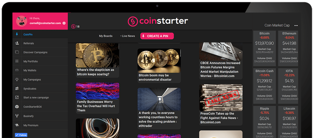 coinstarter