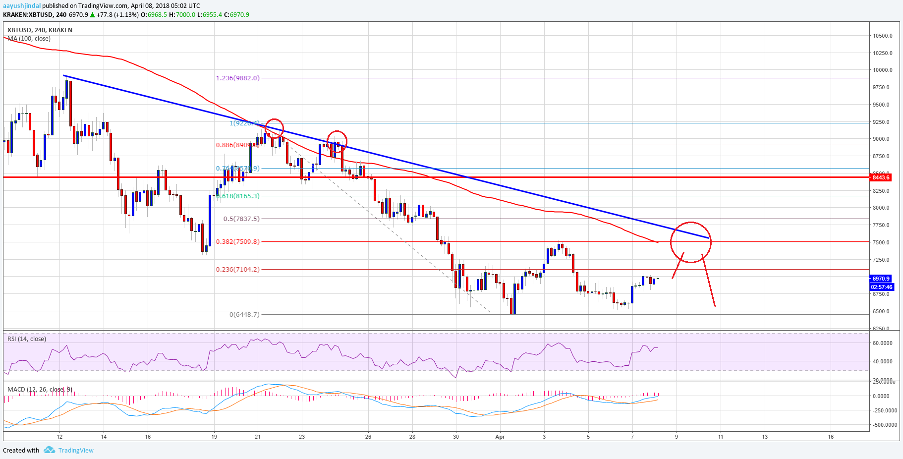 Bitcoin Price Weekly Analysis BTC USD