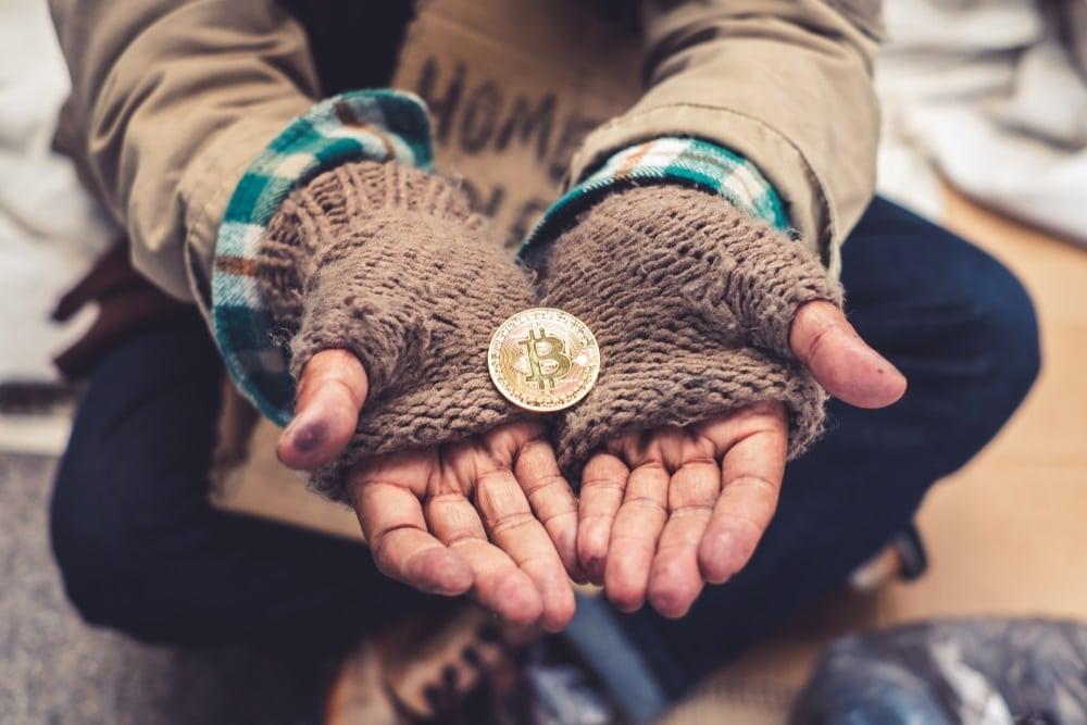 Charity bitcoin crypto