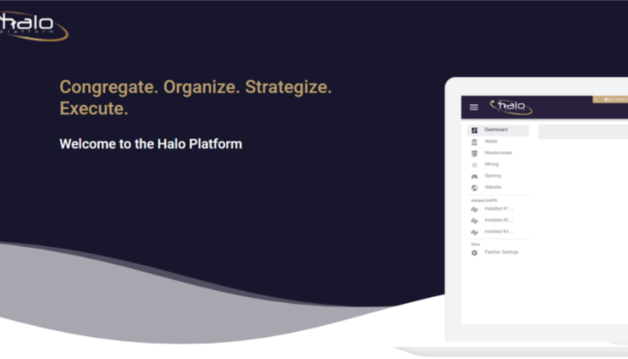 HALO, Halo Platform, cryptocurrency management