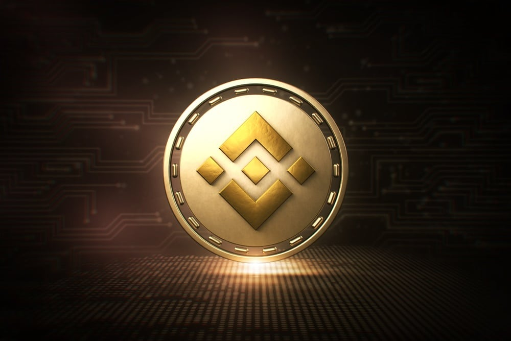 Binance coin price continues