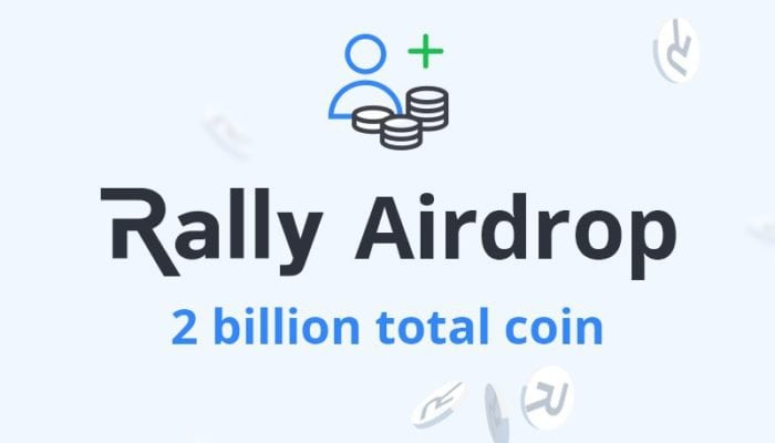 rally, airdrop