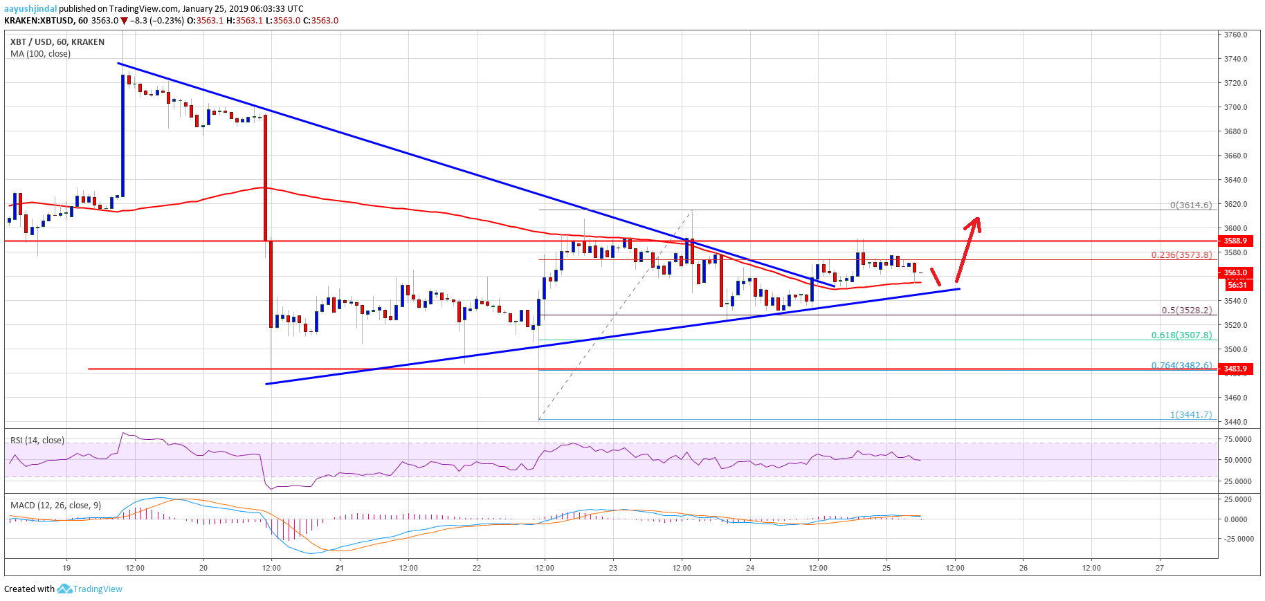 Bitcoin Price Watch: BTC Could Make a Sustained Move Higher