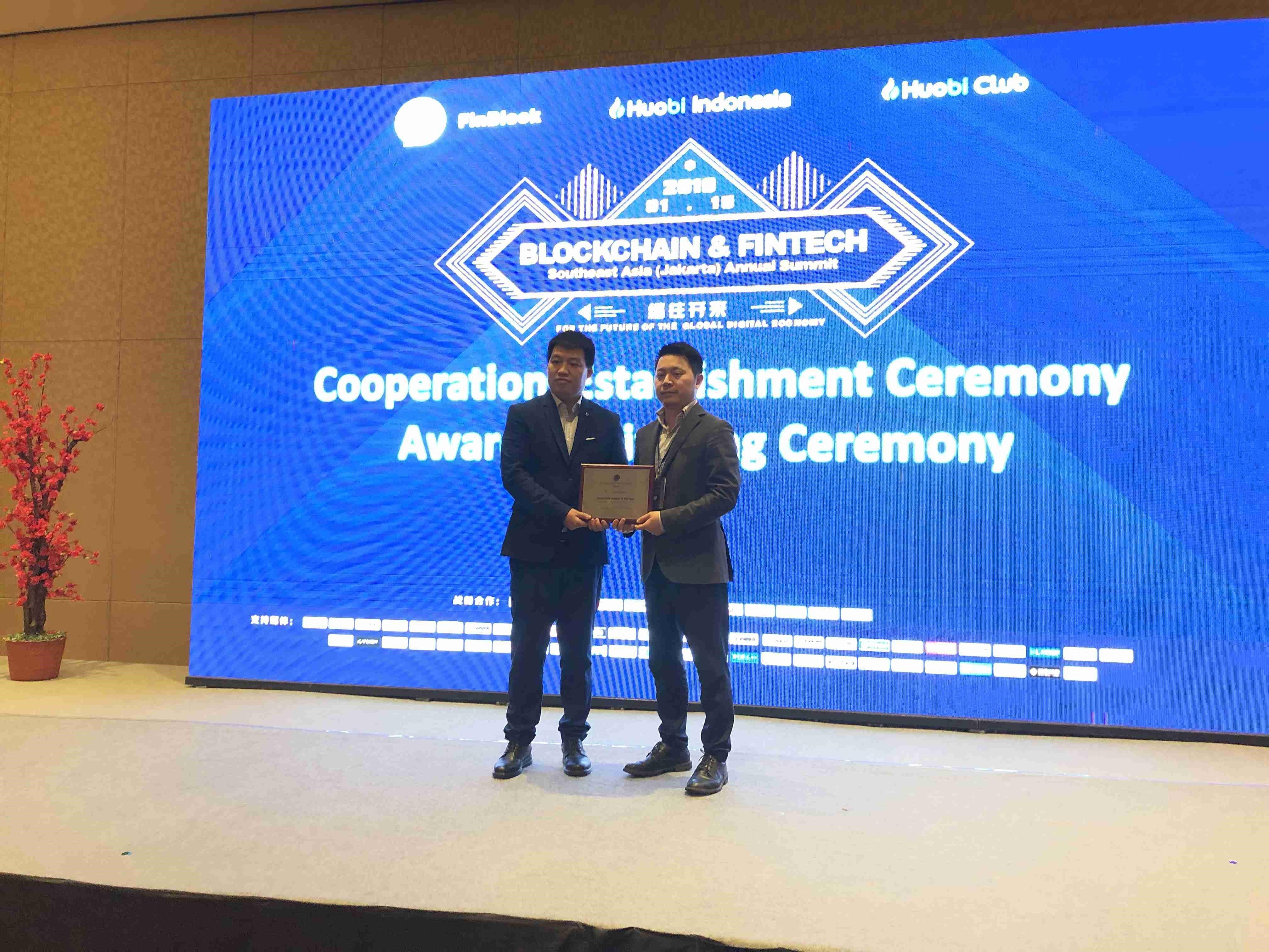 everiToken, award, blockchain, southeast asia