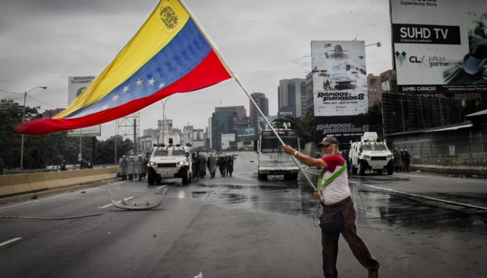 Venezuelan military attache to United States breaks rank with Maduro