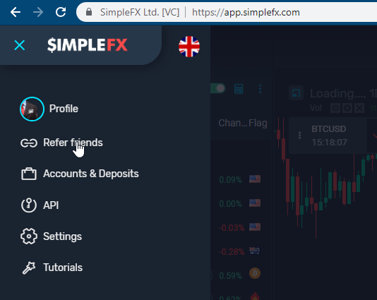 affiliate, cryptocurrency, simplefx