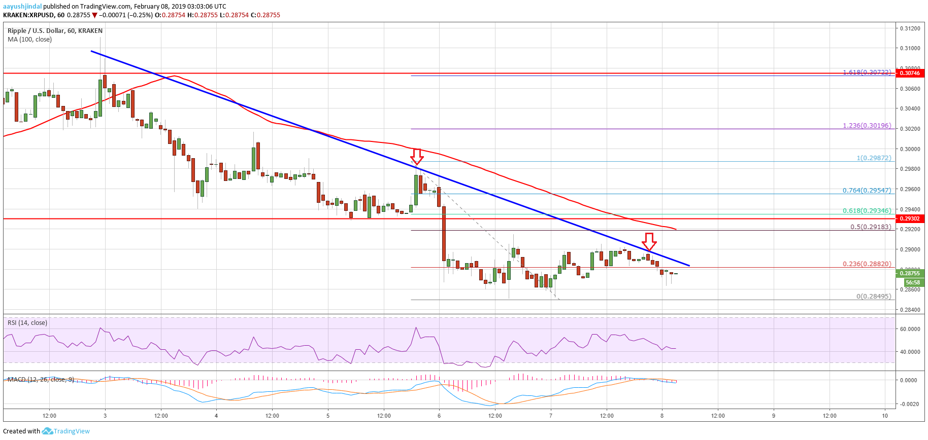 Ripple Price Analysis: XRP Primed for More Declines