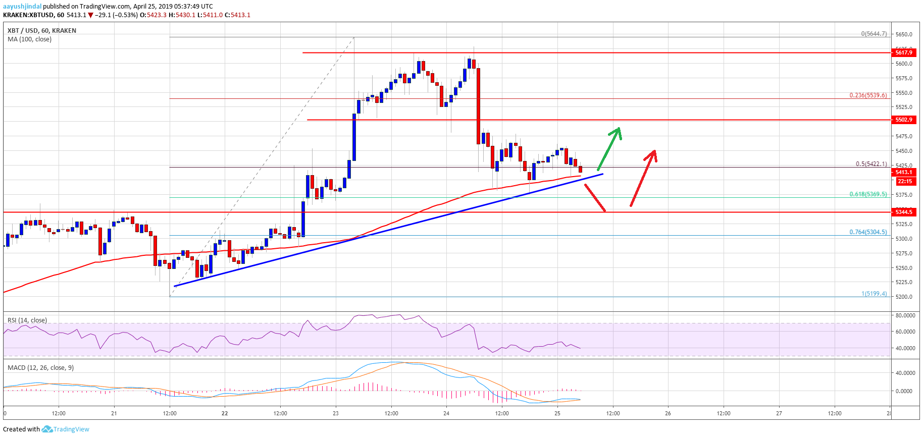 Bitcoin (BTC) Price Correction Approaching Significant Support