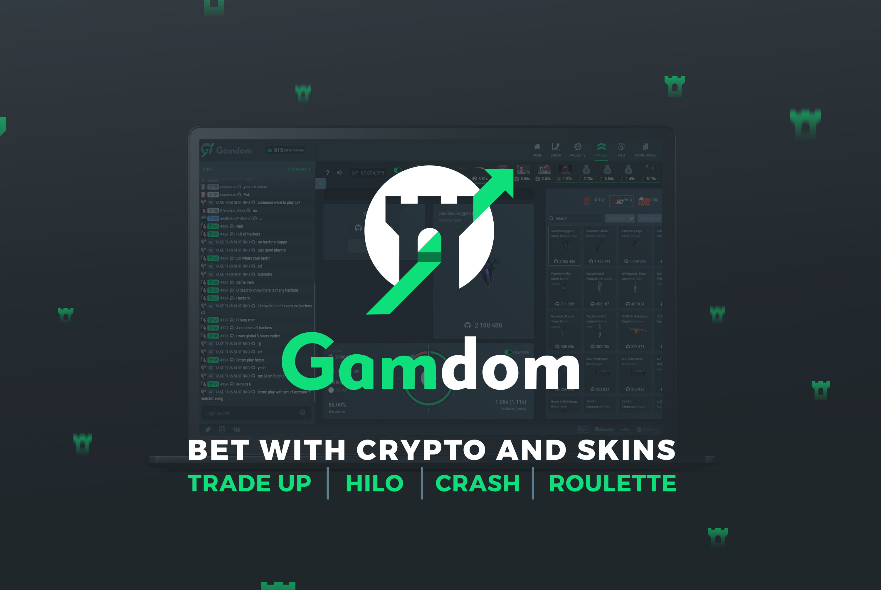 mine cryptocurrency for csgo skins
