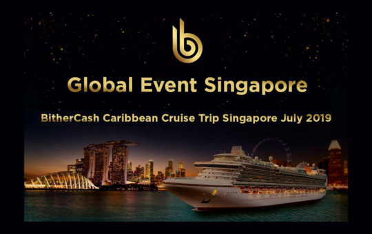 bither, singapore, cryptocurrency, cruise