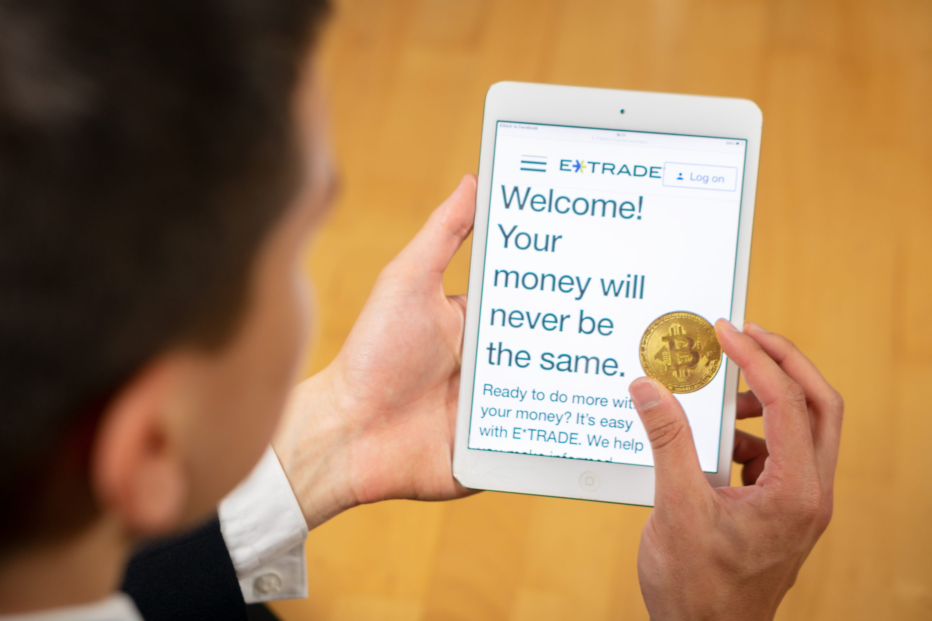 can i trade bitcoin on etrade how can the internet make you money with bitcoins