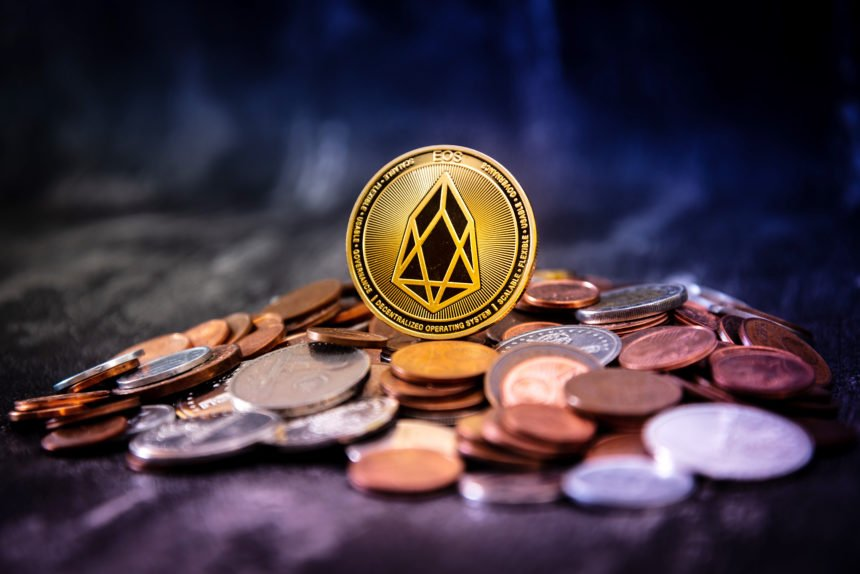 Block.one's EOS coin fell 16% today in response to Larimer's departure