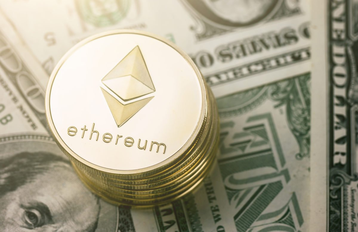 ethereum price chart to usd