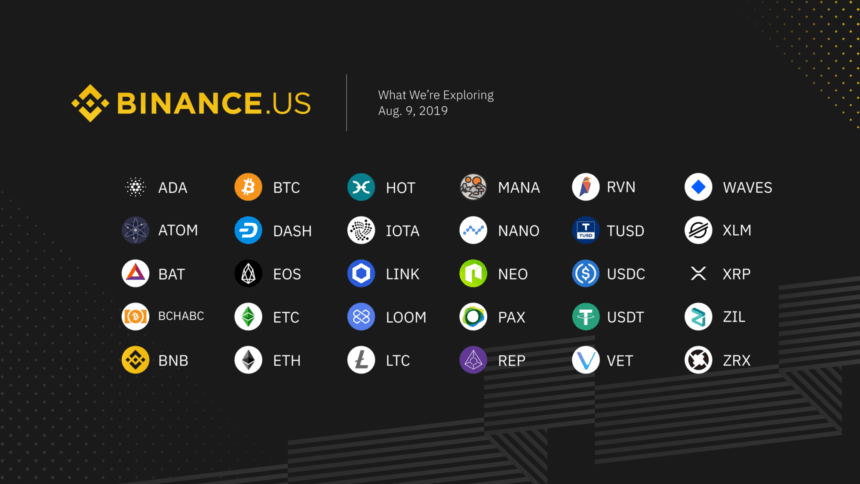 binance crypto bitcoin etheruem