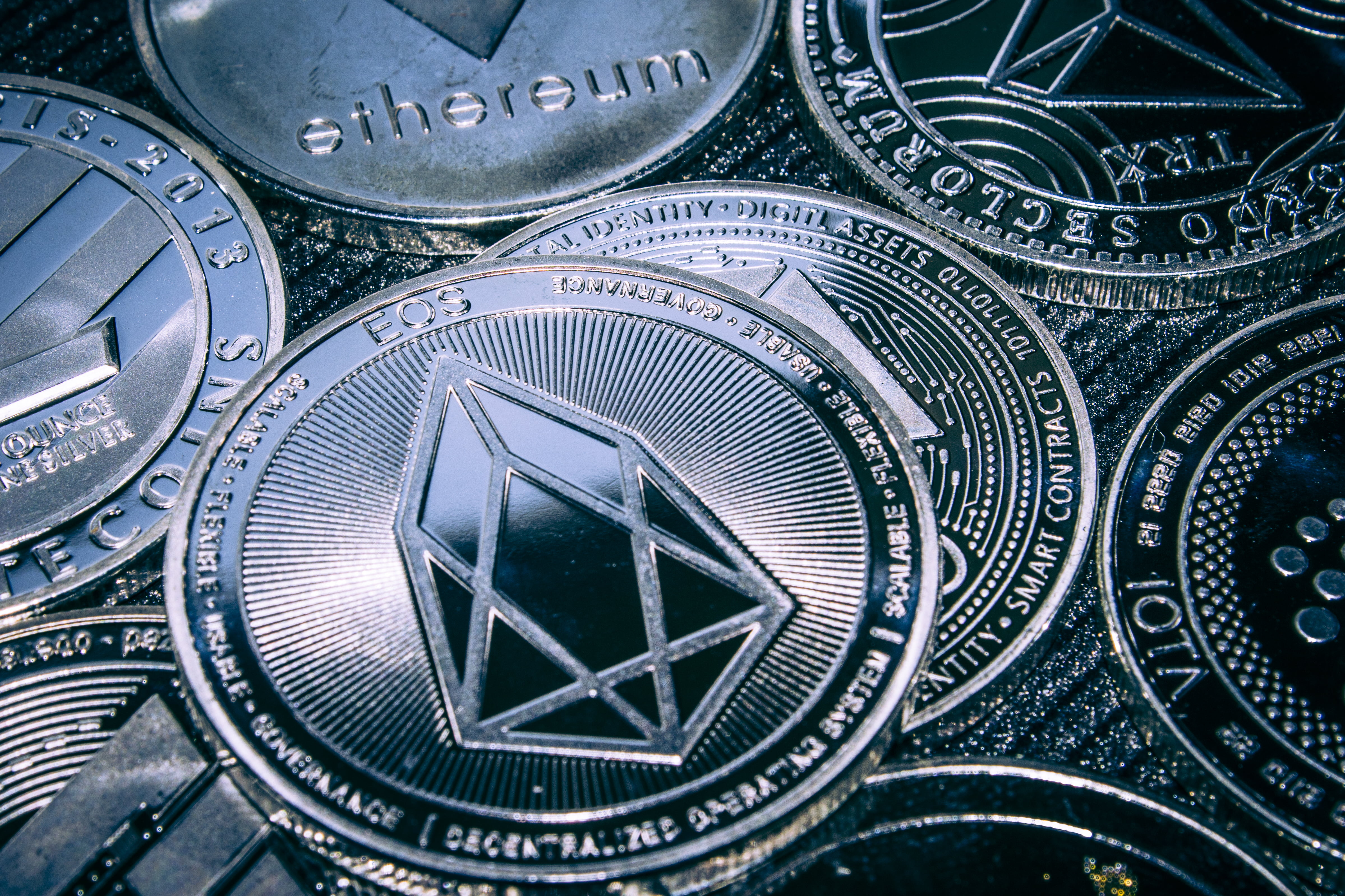 eos ethereum bitcoin litecoin crypto