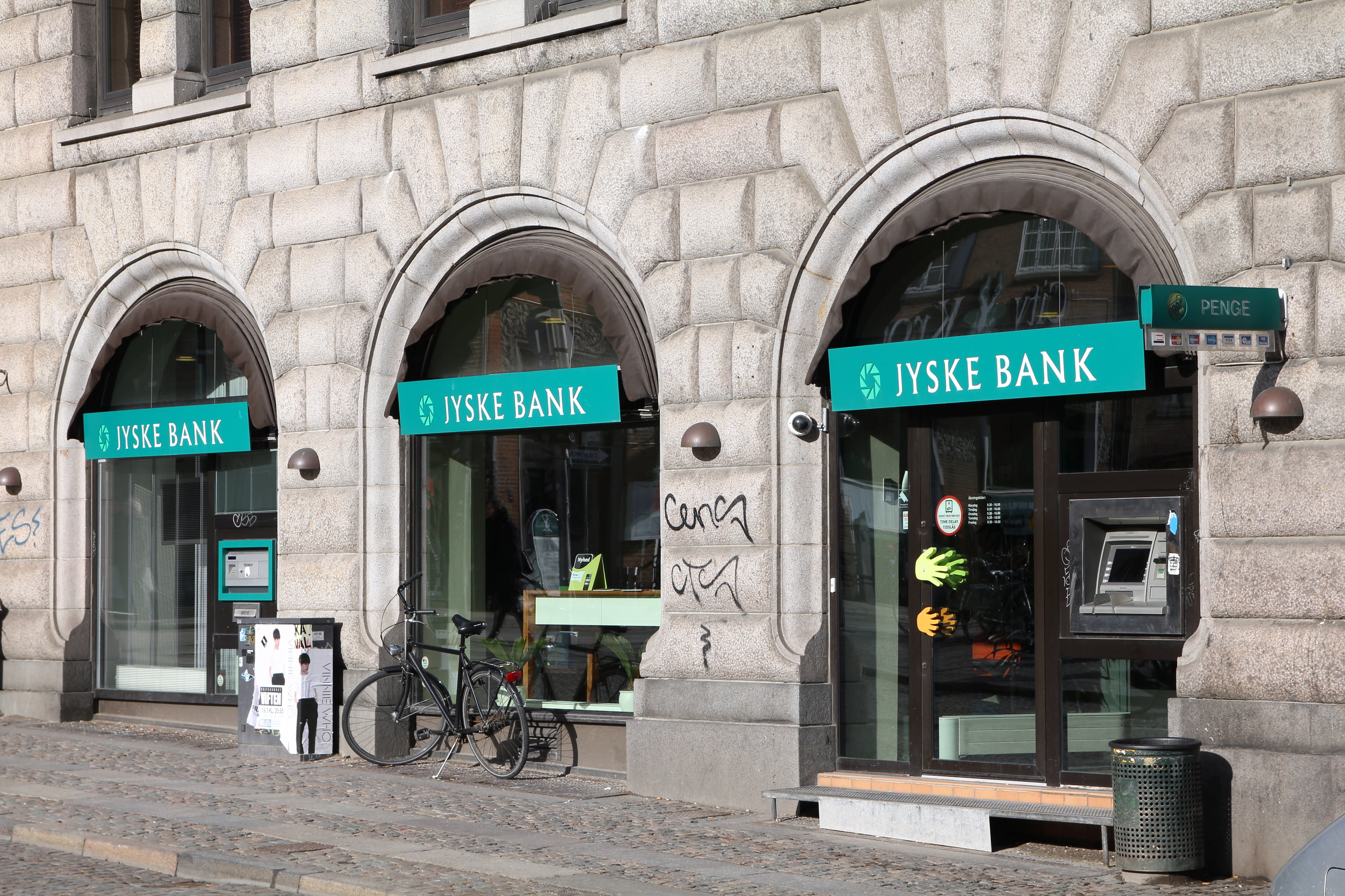 Jyske Bank stimulating the economy with cheap lending