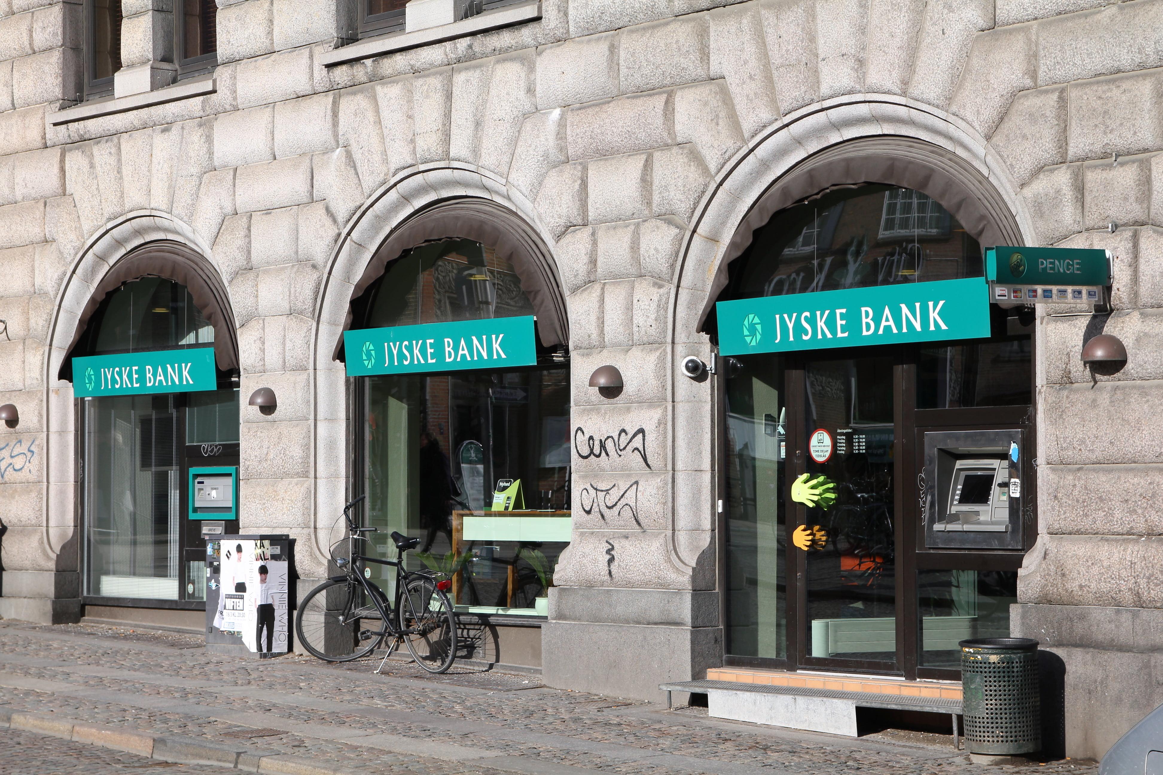 Jyske Bank stimulating the economy with cheap lending