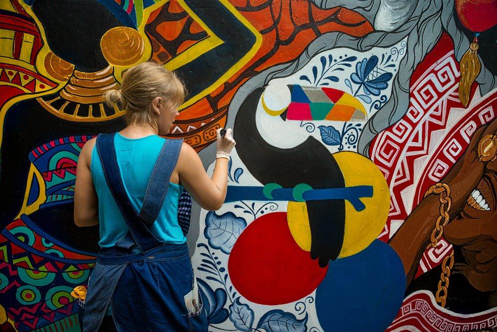 street art bitcoin