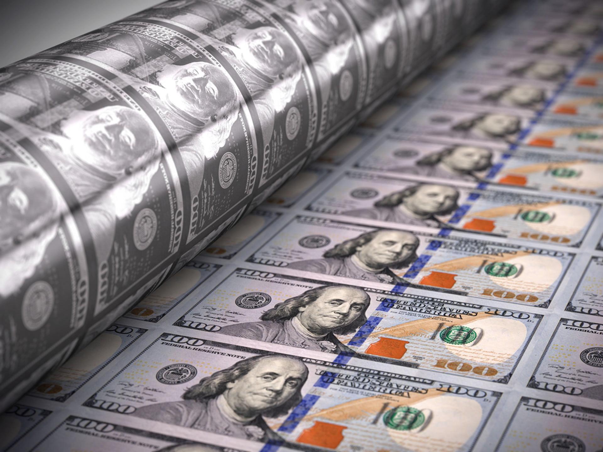 bitcoin printing money crypto