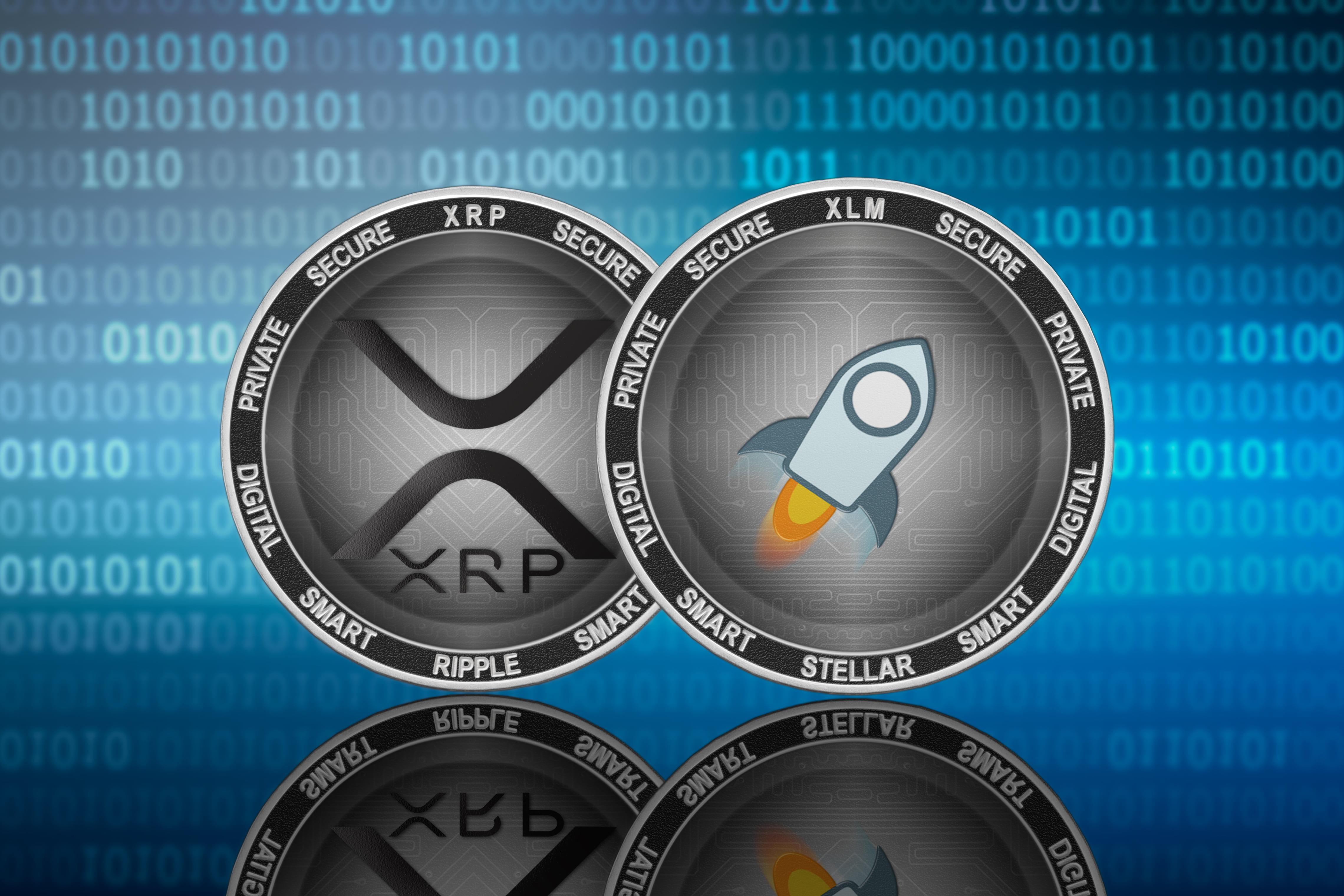 ripple stellar crypto altcoins