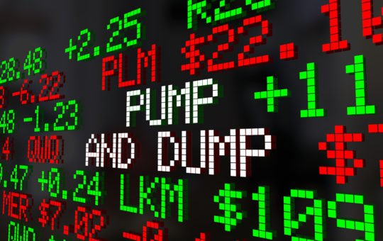 matic crypto altcoin pump and dump