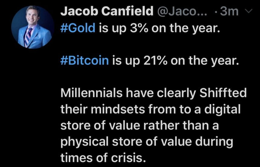 bitcoin gold tweet
