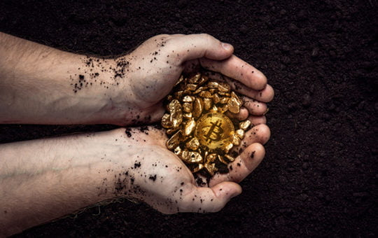 bitcoin, gold, cryptocurrency