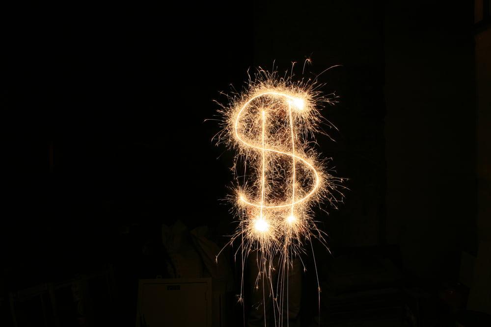 crypto bitcoin fireworks