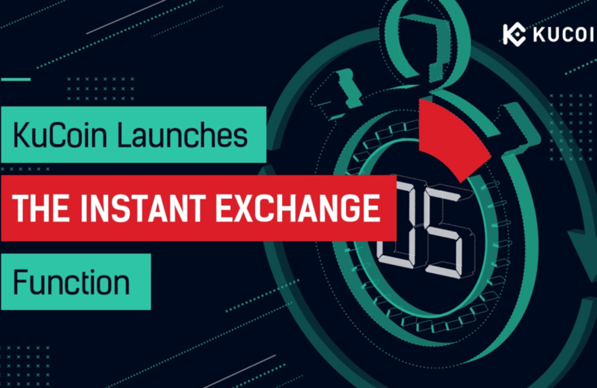 KuCoin's New Instant Exchange Service Supports Near Instant Crypto Transactions