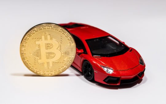 bitcoin, cryptocurrency, Lamborghini