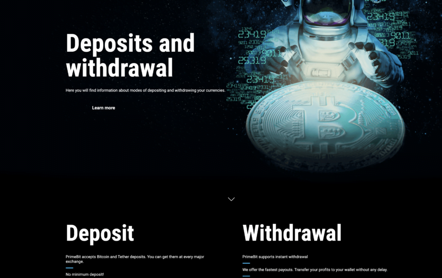 primebit crypto withdrawals