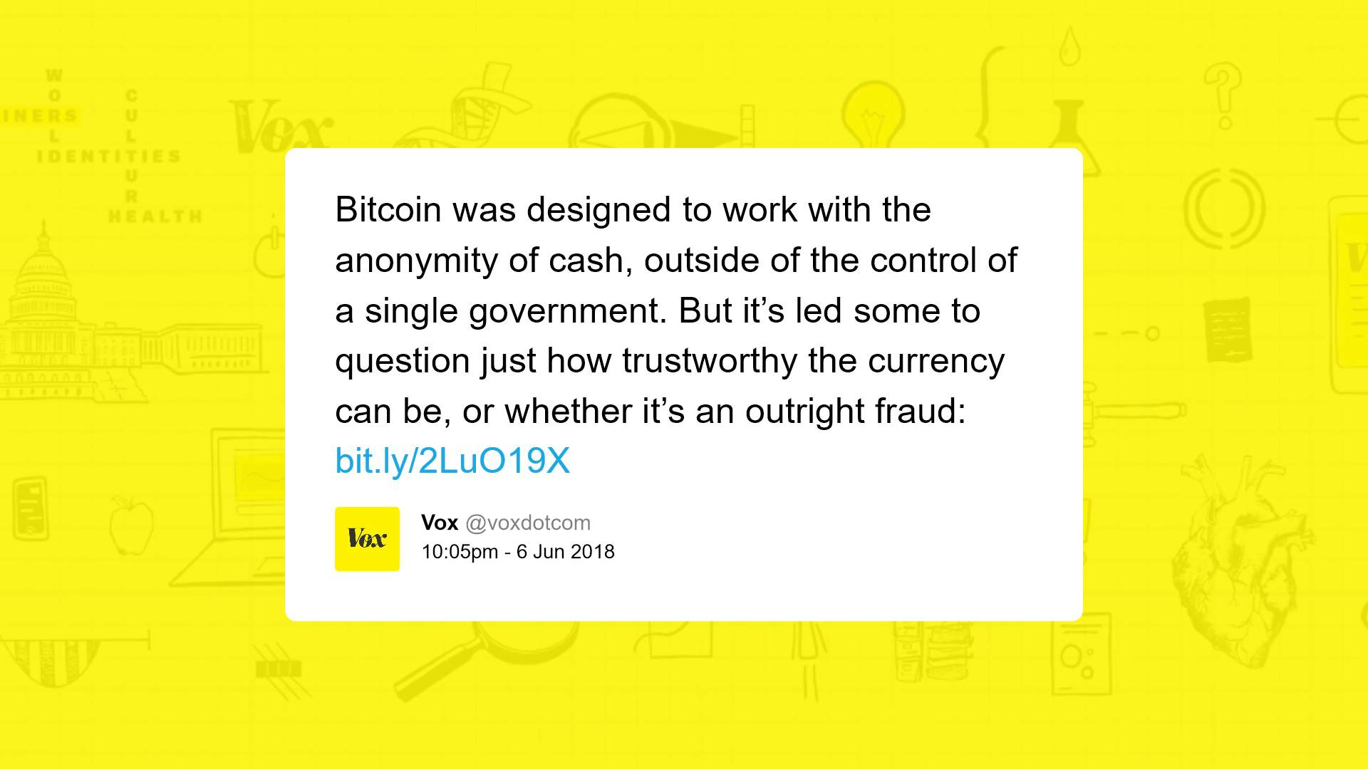 crypto is a scam according to Vox
