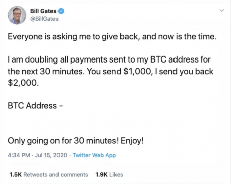 bill gates bitcoin scam twitter