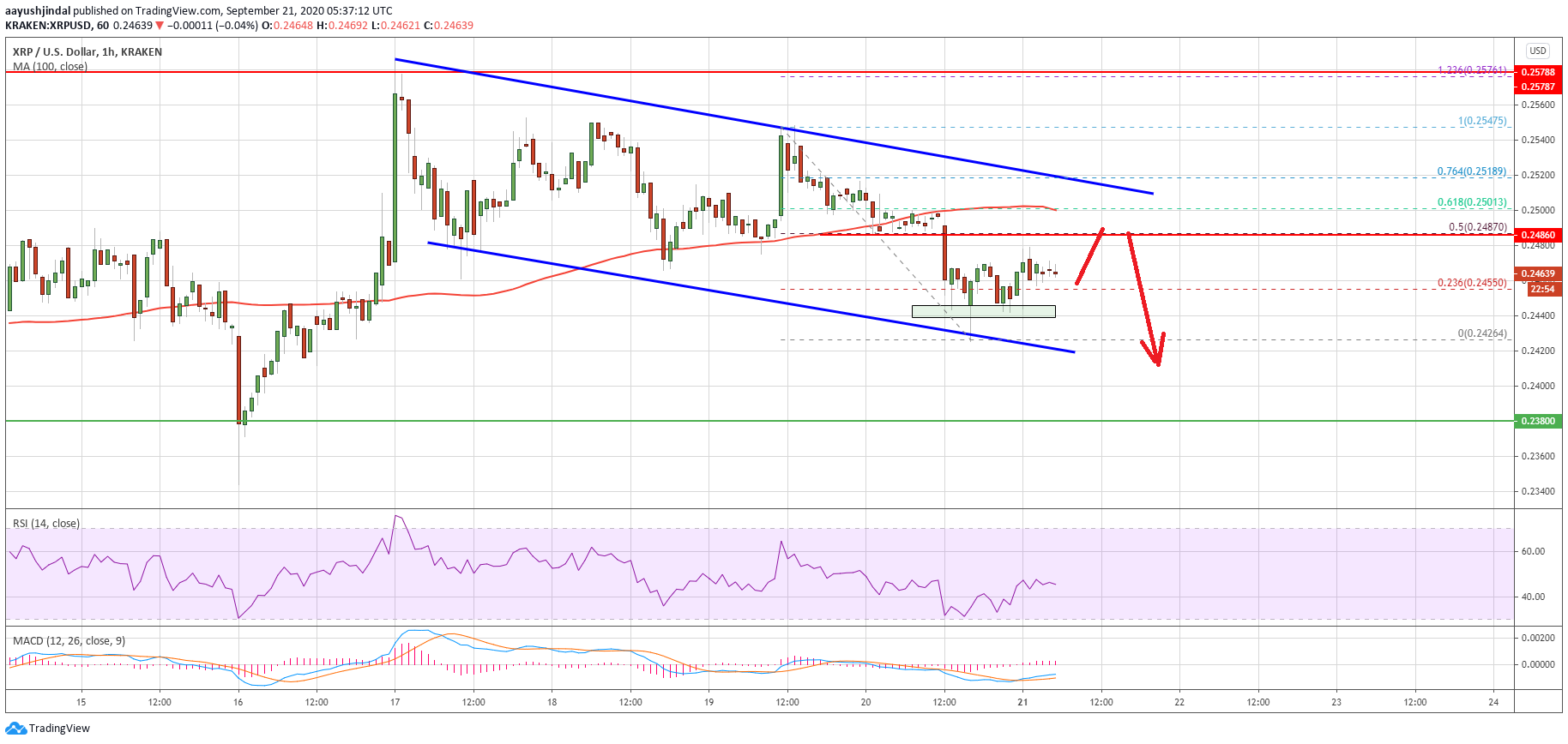 Ripple (XRP) Price Indicators Show Vulnerability To A Sharp Decline