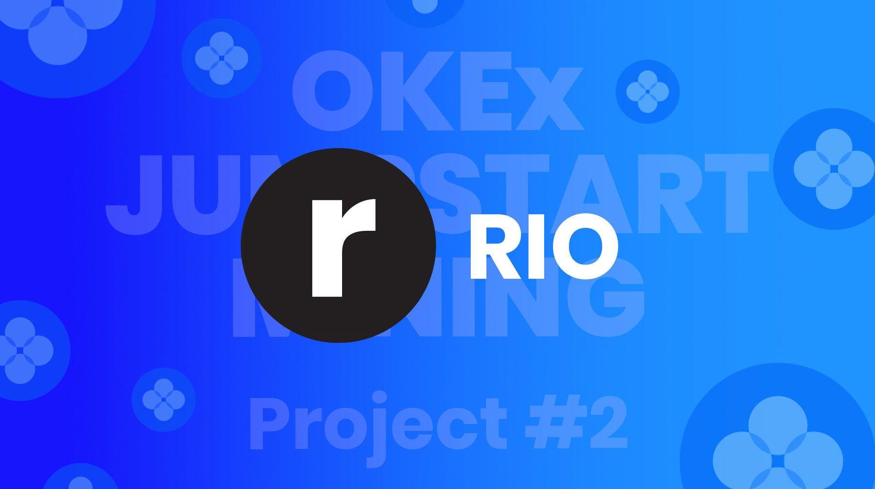 okex jumpstart, rio